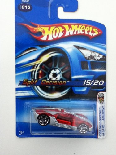 Hot Wheels Realistix Split Decision 2005 First Editions 015 Variant Card - 1