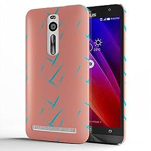 Koveru Back Cover Case for Asus Zenfone 2 - Pink Grunge