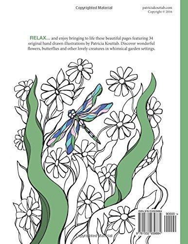 In the Garden: Coloring Book: Volume 1