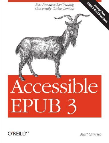 Accessible EPUB 3 PDF
