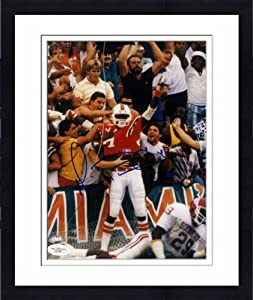 Framed Michael Irvin Signed 8x10 Miami Hurricanes Photo - JSA Certified - Autographed... by Sports+Memorabilia