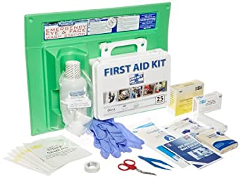 PhysiciansCare 24-500 160 Piece Physicians Care First Aid Kit and 16 oz Eye Wash Station