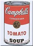 アンディ・ウォーホル キャンベルスープ トマトスープ マグネット