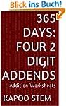 365 Days Math Addition Series: Four 2...