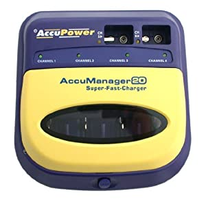 AccuPower AP2020 AccuManager 20 Super-Fast Battery Charger