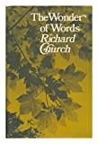 The wonder of words (0091022304) by Church, Richard
