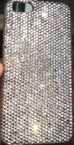 Great Sale Swarovski Crystal iPhone 5 Case Cover SS12 - Clear Crystals