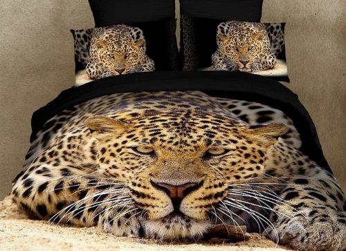 Dolce Mela Dm400Q Ghepardo Queen Duvet Cover Set