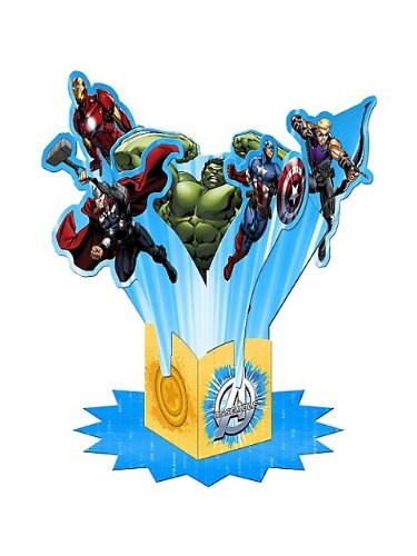 Avengers Assemble Table Decorating Kit