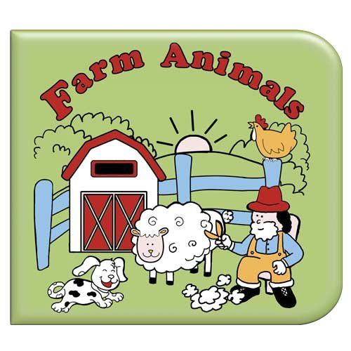 Farm Animals Washable Coloring Book - 1