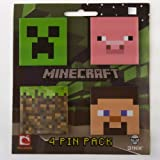 (4x5) Minecraft Pin Pack