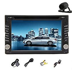 See New Arrival Car Radio with Android 4.2 System Universal 6.2 Inch Double 2 Din with GPS Navigation Bluetooth For Iphone Android Updated Muti-Touch Capactive HD Rear Camera Car Stereo DVD/CD Video Player gps Navigation USD/SD/WIFI Functions Details