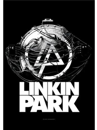 Poster Bandiera Atomic Age Linkin Park