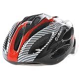 大人気 GIANT ジャイアント  軽量ヘルメット 並行輸入品 (黒/赤)