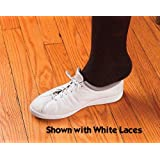 "Shoe Laces Elastic White 30"" (3 Pair)"