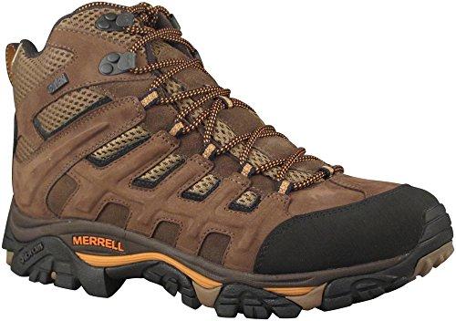 Merrell Men's Moab Peak Mid Ventilator Waterproof Hiking Boot,Black Slate,8.5 M US (Merrell Moab Mid Ventilator compare prices)