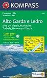 Alto Garda e Ledro: Riva del Garda, Malcesine, Torbole, Limone. Escursioni / Bike. Wandern / Rad. GPS-genau. 1:25.000 Picture