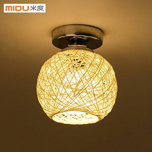 JJ-Moderne-LED-Deckenleuchte-der-Himmlischen-Portal-ist-leicht-Eingang-Licht-klein-Deckenleuchte-moderne-LED-Garderobe-Klamottenlden-Kugeln-rattan-Lampe-leuchtet-Durchmesser-150mm180mm-gangways-m-wei-