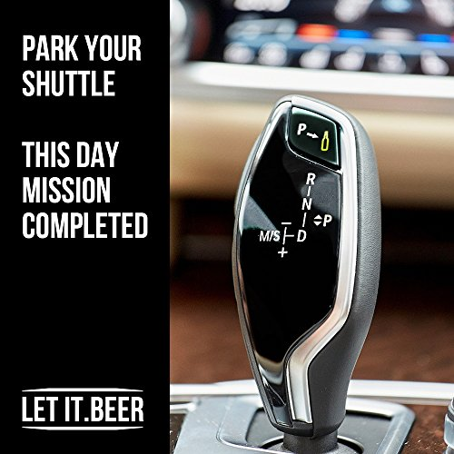 Beer Chiller Sticks - Set of 2 Coolers to Keep Drinks Cold - Perfect Birthday Present or Holiday Gift for Men / Dads / Students / Party - Includes Stylish Bottle Opener!