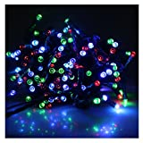 AGPtek® Solar Power 200 LED String Fairy Light Outdoor Multicolor