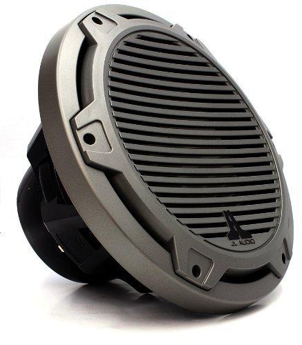 """Mx10Ib3-Cg-Tb - Jl Audio 10"""" Marine Classic Grille Titanium & Black Subwoofer"""