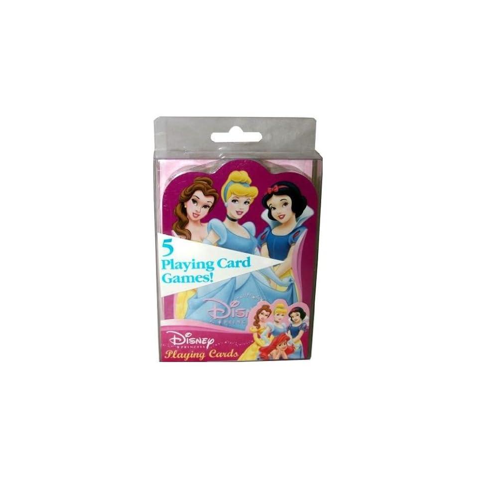 2 Decks Disney Princess Cinderella Snow White Belle Ariel Aurora Playing Cards