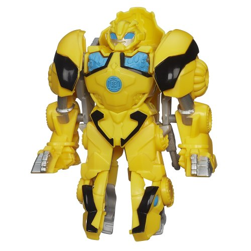 Playskool Heroes Transformers Rescue Bots Roar And Rescue Bumblebee Figure front-105341
