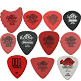 Dunlop Tortex Variety Pack - 22 x 0.50mm Guitar Picks / Plectrums In A Handy Pick Tin