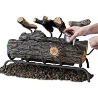 "Real Flame 24"" Convert-to-Gel Log S..."