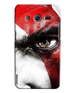 Omnam Boy With Closeup Eye Effect Printed Designer Back Cover Case For Samsung Galaxy Galaxy Core 2
