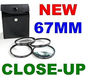 Neewer 67Mm Macro Close-Up Lens Set For Canon 18-135Mm 70-200Mm