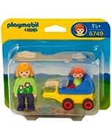 Playmobil - 6749 - Jeu de construction - Maman avec poussette