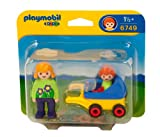 Playmobil 1.2.3 6749 Mother with Baby and Stroller