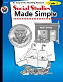 img - for Social Studies Made Simple, Grade 2 by Pierce, Q L (2001) Paperback book / textbook / text book