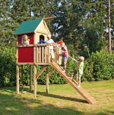 WINNETOO Spielturm Spielhaus bunt GP850