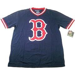 Boston Red Sox Mens T-Shirt Wright & Ditson Eephus MLB 100% Cotton by Wright & Ditson