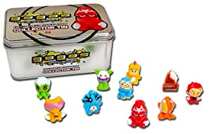 GoGo's Crazy Bones - Limited Edition Silver Collector's Tin (Colors And Styles May Vary)