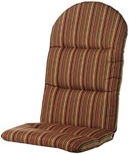 Amazon Bullnose Adirondack Outdoor Chair Cushion 2