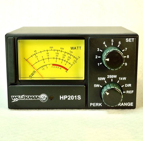 Workman DM5000 Tornado ECHO POWER Mic w// Recordable IC for CB Radio