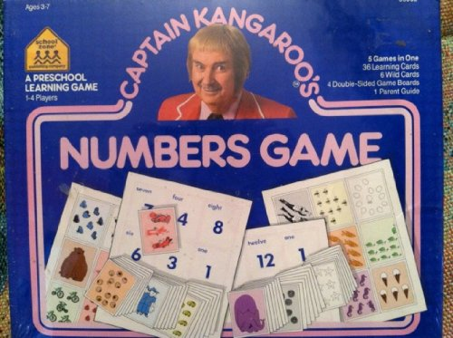 Captain Kangaroo Numbers Game - 1