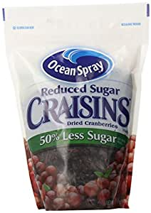 Amazon.com : Ocean Spray Reduced Sugar Craisins Dried ...