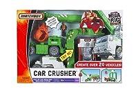 Matchbox Mega Rig Car Crusher Building System from Mattel