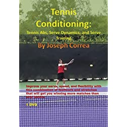 Tennis Conditioning: Tennis Abs, Serve Dynamics, and Serve Training