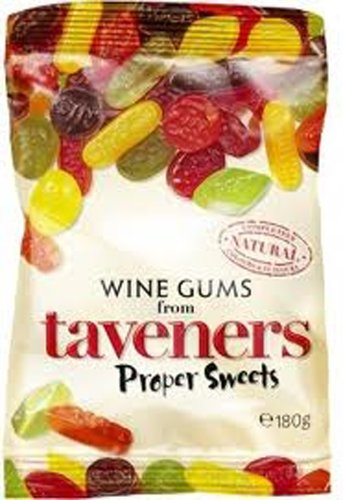 Taveners Wine Gums, 5.8 oz., Two bags (Wine Flavored Candy compare prices)