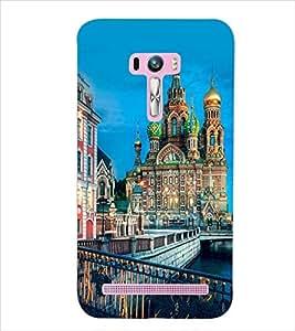 PrintDhaba SUPER CITY D-6439 Back Case Cover for ASUS ZENFONE SELFIE ZD551KL (Multi-Coloured)