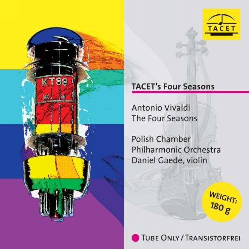 VIVALDI / GAEDE / POLISH CHAMBER PHILHARMONIC ORCH - TACETS FOUR SEASONS