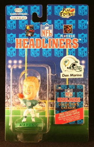 DAN MARINO / MIAMI DOLPHINS * 3 INCH * 1996 NFL Headliners Football Collector Figure