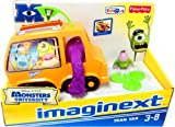 Disney / Pixar Monsters University Exclusive Fisher Price Imaginext Vehicle Team Van