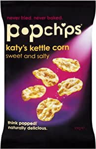 Popchips Katy's Kettle Corn Chips 99 g (Pack of 8)