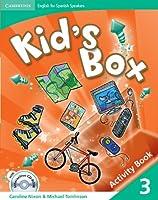 Kid's Box for Spanish Speakers Level 3 Activity Book with CD-ROM and Language Portfolio